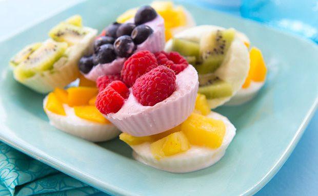 ไอศครีมโยเกิร์ตผลไม้ ฟันน้ำนม